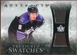 2010/11 Upper Deck Artifacts Treasured Swatches Silver #TSDD Drew Doughty /50