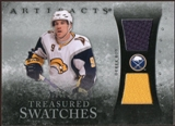 2010/11 Upper Deck Artifacts Treasured Swatches Silver #TSDR Derek Roy /50