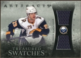 2010/11 Upper Deck Artifacts Treasured Swatches Silver #TSJP Jason Pominville /50