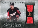 2010/11 Upper Deck Artifacts Treasured Swatches Silver #TSJS Jason Spezza /50