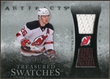 2010/11 Upper Deck Artifacts Treasured Swatches Silver #TSPE Patrik Elias 16/50