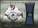 2010/11 Upper Deck Artifacts Treasured Swatches Silver #TSRL Roberto Luongo 3/50