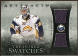 2010/11 Upper Deck Artifacts Treasured Swatches Silver #TSRM Ryan Miller 42/50