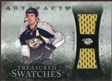 2010/11 Upper Deck Artifacts Treasured Swatches Silver #TSSW Shea Weber /50