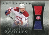 2010/11 Upper Deck Artifacts Treasured Swatches Silver #TSTP Tomas Plekanec /50