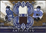 2010/11 Upper Deck Artifacts Tundra Tandems Bronze #TT22007 Patrick Kane/James van Riemsdyk /125