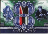 2010/11 Upper Deck Artifacts Tundra Tandems Patches Emerald #TT2CANES Tuomo Ruutu/Eric Staal 3/40