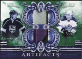 2010/11 Upper Deck Artifacts Tundra Tandems Patches Emerald #TT2KINGD Jack Johnson/Drew Doughty 35/40