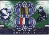 2010/11 Upper Deck Artifacts Tundra Tandems Patches Emerald #TT2KOIVU Saku Koivu/Mikko Koivu 5/40