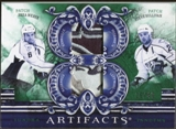 2010/11 Upper Deck Artifacts Tundra Tandems Patches Emerald #TT2PREDS Steve Sullivan/Shea Weber 26/40