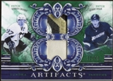 2010/11 Upper Deck Artifacts Tundra Tandems Patches Emerald #TT22005 Sidney Crosby/Bobby Ryan 32/40