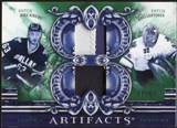 2010/11 Upper Deck Artifacts Tundra Tandems Patches Emerald #TT2DALL Kari Lehtonen/Mike Ribeiro 1/40
