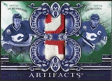 2010/11 Upper Deck Artifacts Tundra Tandems Patches Emerald #TT2FLAM Jarome Iginla/Jay Bouwmeester 28/40