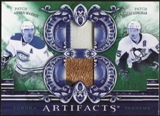 2010/11 Upper Deck Artifacts Tundra Tandems Patches Emerald #TT2RUSD Sergei Gonchar/Andrei Markov 32/40