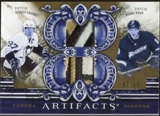 2010/11 Upper Deck Artifacts Tundra Tandems Patches Gold #TT22005 Sidney Crosby/Bobby Ryan 7/15