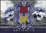 2010/11 Upper Deck Artifacts Tundra Tandems Silver #TT2SJS Dany Heatley/Rob Blake 17/75
