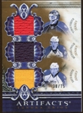 2010/11 Upper Deck Artifacts Tundra Trios Bronze #TT3PNTH Tomas Vokoun/Michael Frolik/David Booth 38/75