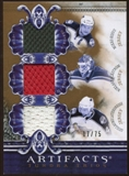 2010/11 Upper Deck Artifacts Tundra Trios Bronze #TT3WILD Mikko Koivu/Niklas Backstrom/Guillaume Latendresse /