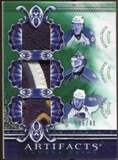2010/11 Upper Deck Artifacts Tundra Trios Patches Emerald #TT3FLA Michael Frolik/Tomas Vokoun/Stephen Weiss/40