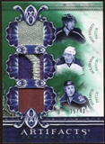 2010/11 Upper Deck Artifacts Tundra Trios Patches Emerald #TT3LAK Drew Doughty/Jack Johnson/Ryan Smyth 15/40