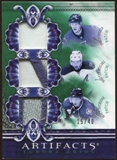 2010/11 Upper Deck Artifacts Tundra Trios Patches Emerald #TT3BRAM Jason Spezza/Wojtek Wolski/Matt Duchene /40