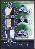 2010/11 Upper Deck Artifacts Tundra Trios Patches Emerald #TT3BRNS Tim Thomas/Michael Ryder/Blake Wheeler /40