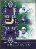 2010/11 Upper Deck Artifacts Tundra Trios Patches Emerald #TT3BUDS Phil Kessel/Nikolai Kulemin/Luke Schenn /40