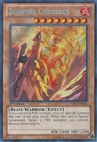 Yu-Gi-Oh Cosmo Blazer Single Bonfire Colossus Secret Rare