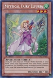 Yu-Gi-Oh Cosmo Blazer Single Mystical Fairy Elfuria Secret Rare