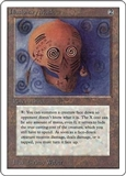 Magic the Gathering Unlimited Single Illusionary Mask MODERATE PLAY (VG/EX)