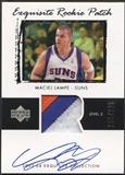 2003/04 Exquisite Collection #52 Maciej Lampe Rookie Patch Auto #206/225