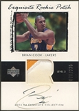 2003/04 Exquisite Collection #58 Brian Cook Rookie Patch Auto #079/225