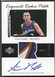 2003/04 Exquisite Collection #62 Steve Blake Rookie Patch Auto #043/225