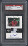 2003/04 Exquisite Collection #75 Chris Bosh Rookie Patch Auto #34/99 PSA 10