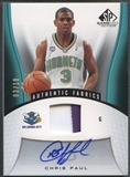 2006/07 SP Game Used #163 Chris Paul Patch Auto #03/10