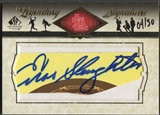 2008 SP Legendary Cuts #ES Enos Slaughter Legendary Signatures Cut Auto #04/30