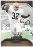 2010  Topps Triple Threads Gold #99 Jim Brown /99