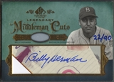 2005 SP Legendary Cuts #BH Billy Herman Middlemen Cut Auto #22/90