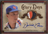 2005 SP Legendary Cuts #DC David Cone Glory Days Patch Auto #10/25