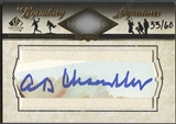 2008 SP Legendary Cuts #HC Happy Chandler Legendary Cut Signatures Auto #33/60