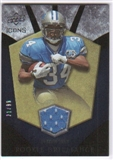 2008 Upper Deck Icons Rookie Brilliance Jersey Gold #RB23 Kevin Smith /99