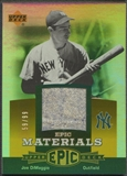 2006 Upper Deck Epic #JD3 Joe DiMaggio Materials Orange Pants #59/99