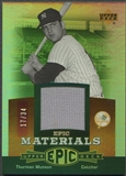 2006 Upper Deck Epic #TH1 Thurman Munson Materials Red Pants #17/34
