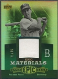 2006 Upper Deck Epic #PR2 Pee Wee Reese Materials Green Jersey #71/75