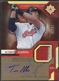 2005 Ultimate Collection #HA Travis Hafner Sluggers Signature Patch Auto #10/10