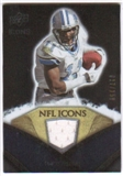2008 Upper Deck Icons NFL Icons Jersey Silver #NFL20 Roy Williams WR /150
