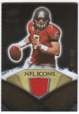 2008 Upper Deck Icons NFL Icons Jersey Silver #NFL26 Jeff Garcia /150