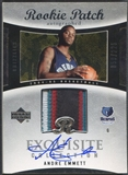 2004/05 Exquisite Collection #43 Andre Emmett Rookie Patch Auto #059/225