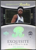2004/05 Exquisite Collection #83 Erik Daniels Platinum #18/25