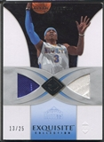 2006/07 Exquisite Collection #10J Allen Iverson Jersey #13/25